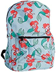 Disney Little Mermaid All Over Print Backpack