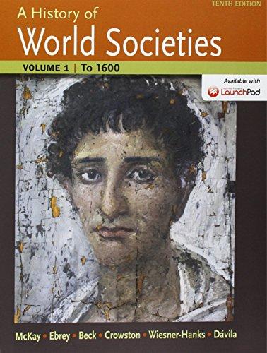 History of World Societies 10e V1 & LaunchPad for History of World Societies 10e (Six Month Access)