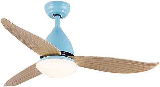 Ventiladores de techo con lámpara Ventilador Eléctrico Lámpara De ...