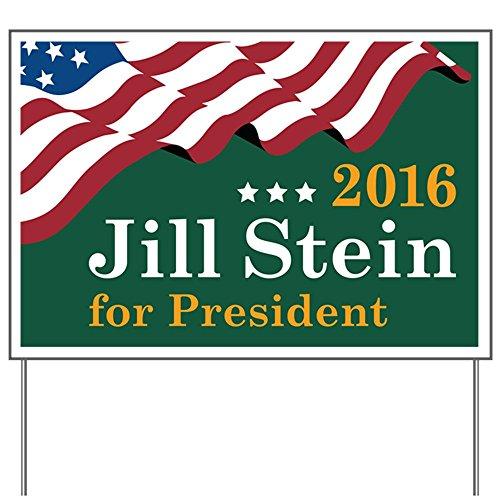 CafePress - Jill Stein For President - Yard Sign, Vinyl Lawn