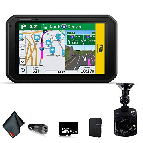 Garmin dezlCam 785 LMT-S Advanced GPS for Trucks Accessory Bundle