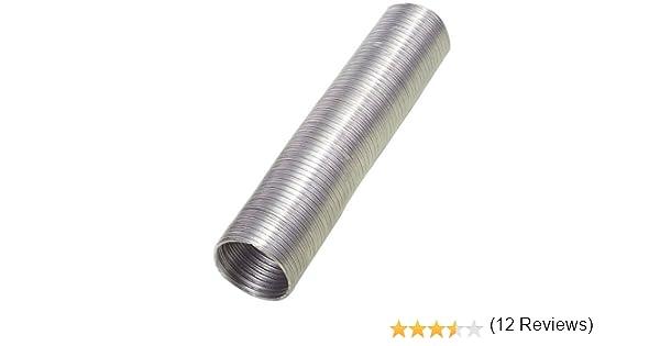 Wolfpack Tubo Aluminio Compacto Ø 250 mm, Ventilador Extractor, Tubo Campana, Ventilación Doméstica, Color Gris: Amazon.es: Bricolaje y herramientas