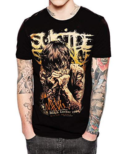 Stand-Zone Suicide Silence Mitch Lucker Comic T Shirt,Sleeveless,Hoodie (XX-Large Chest 25