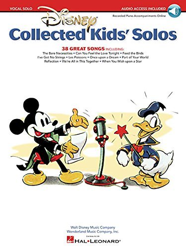 [Disney: Collected Kids' Solos (Book/Online Audio)] [Author: Hal Leonard Publishing Corporation] [March, 2011] ()