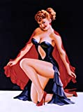 A SLICE IN TIME 1940s Pin-Up Girl The Magician's