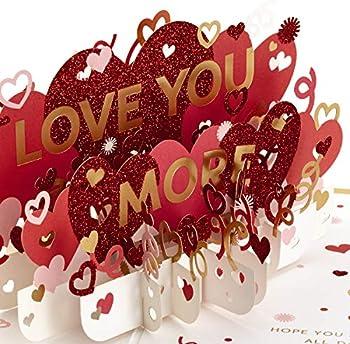 Hallmark Signature Paper Wonder Pop Up Valentines Day Card
