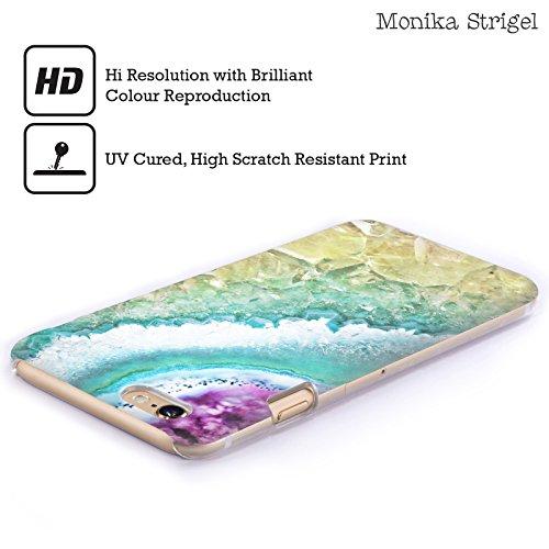 Officiel Monika Strigel Or Rose Améthyste Étui Coque D'Arrière Rigide Pour Apple iPhone 3G / 3GS