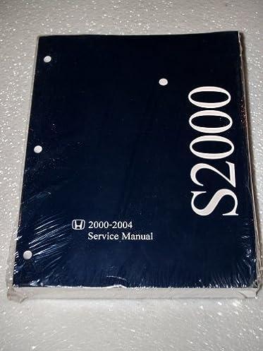 2000 2004 honda s2000 service manual complete volume honda motor rh amazon com Honda S2000 Automatic Honda S2000 Hardtop Convertible