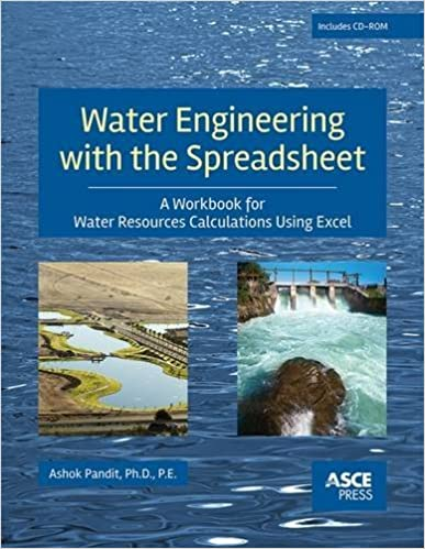 Water Engineering with a Spreadsheet (Asce Press): Ashok Pandit