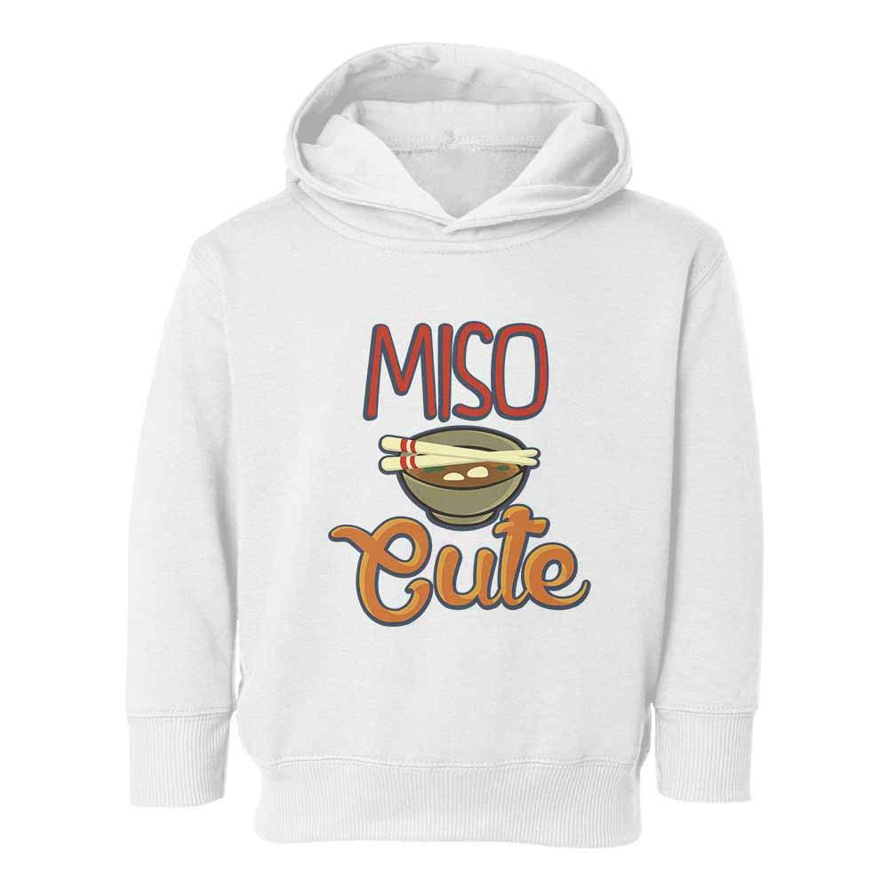 Societee Miso Cute Miso Soup Graphic Youth /& Toddler Hoodie Sweatshirt
