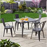 Better Homes and Gardens Camrose Farmhouse 5-Piece Dining Set - Best Reviews Guide