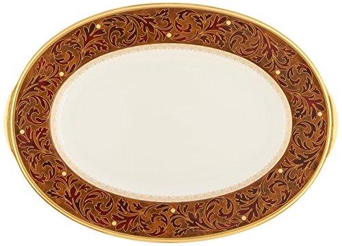Noritake Xavier Gold 12-Inch Oval (Xavier Gold Dinnerware)