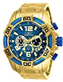 Invicta Men's 'Pro Diver' Quartz Stainless Steel Diving Watch, Color:Gold-Toned (Model: 25852)
