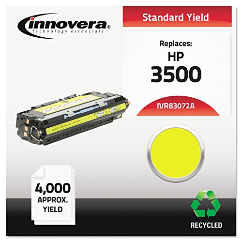 IVR83072A Q2672A Innovera Compatible HP Q2672A - Print Cartridge For Color Laserjet 3500, 3550, 3700 Series, Yellow standard yield (Cartridge Print 3700 Yellow)