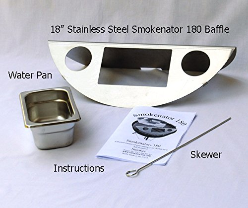 Smokenator 180 - Transform Your 18'' Weber Kettle Into an Efficient Smoker by Smokenator