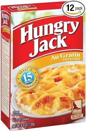 Hungry Jack AU gratinado patatas, 6,1 onza (Pack de 12 ...