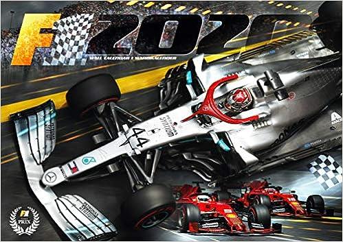 Calendrier Formule E 2020.Amazon Fr F1 2020 Formule 1 Calendrier Mural 2020