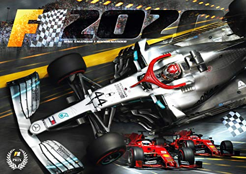 Formula 1 Calendar 2020 por Lewis Hamilton,Sebastian Vettel