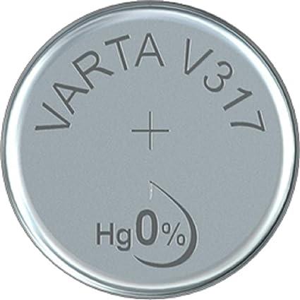 Varta V 317 1 55 V 8 Mah Uhrenzelle Elektronik