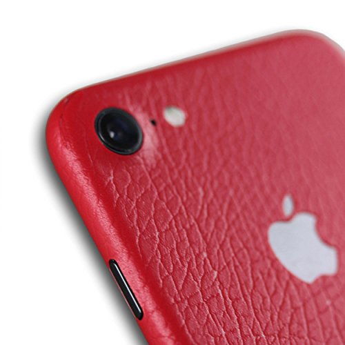 AppSkins Folien-Set iPhone 7 Full Cover - leather red