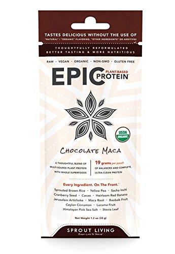 Germer la vie épique de protéines poudre, Maca chocolat, gramme 32