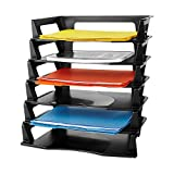 Rubbermaid Regeneration Plastic Letter Tray 6 Pack (86028) (Office Product)