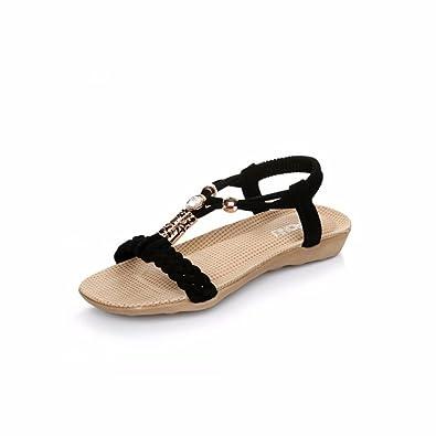 Ouneed® 2016 Sommer Schuhe Sandalen Slipper Indoor & Outdoor Flip Flops Damen Erwachsene Zehentrenner (36, Weiß)