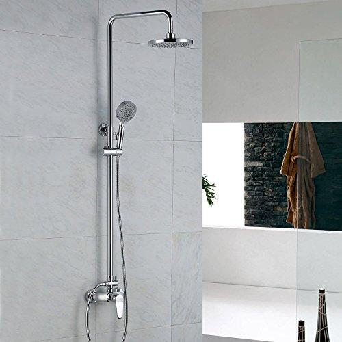 Lightinthebox Shower Faucet Contemporary Rain Shower / Handshower Included Brass Chrome Brass Contemporary Handshower