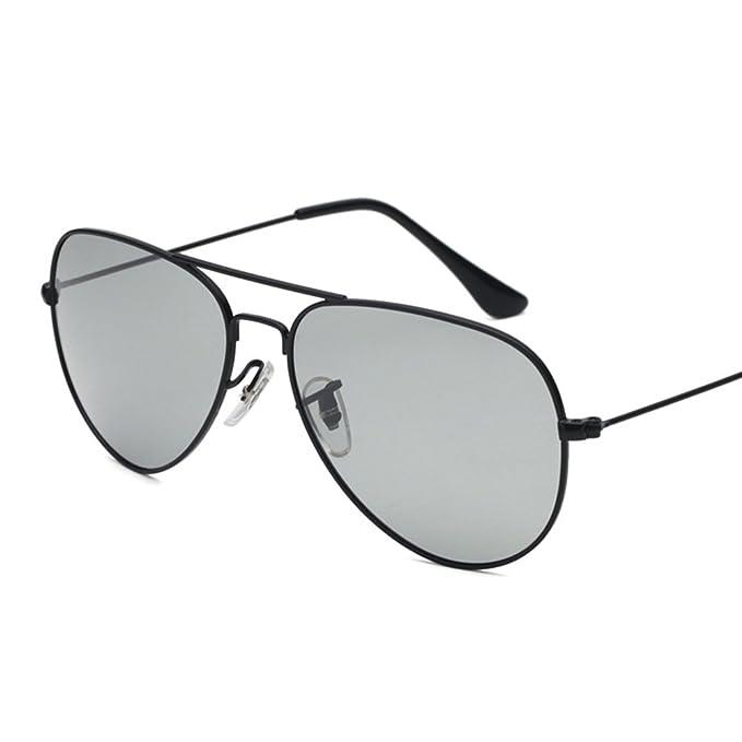 Gafas de sol señora Fotosensibles Gafas de sol polarizadas Conductor tendencia conduce vasos Unisex Personalizados gafas