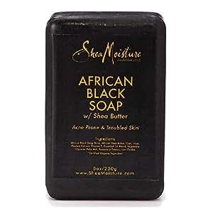 Amazon.com : SheaMoisture 8 oz African Black Soap Bar