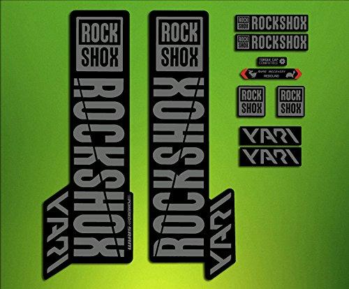 Fork Stickers Stickers Rock Shox Pike 2018 ELX64 Fork Aufkleber Decals MTB