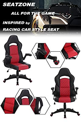 SEATZONE High-Back Ergonomic Gaming Chair by SEATZONE
