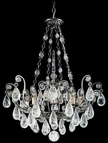 Schonbek 2487-51 Swarovski Lighting Versailles Rock Crystal Chandelier, ()