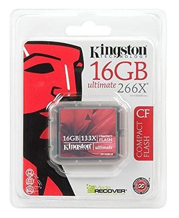 Amazon.com: Kingston Ultimate 16 GB 266 x Tarjeta de memoria ...