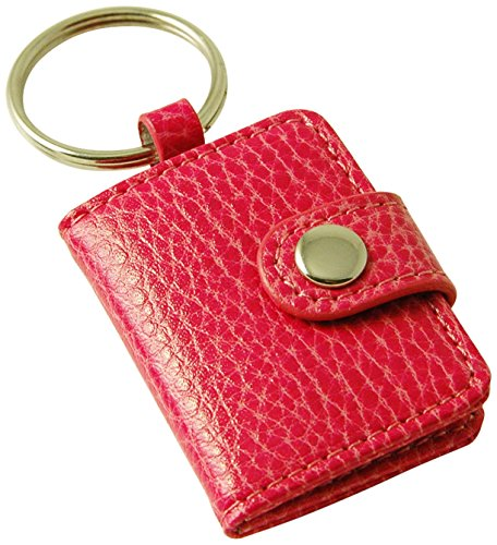 budd-leather-pebble-grained-leather-photo-key-ring-mini-pink
