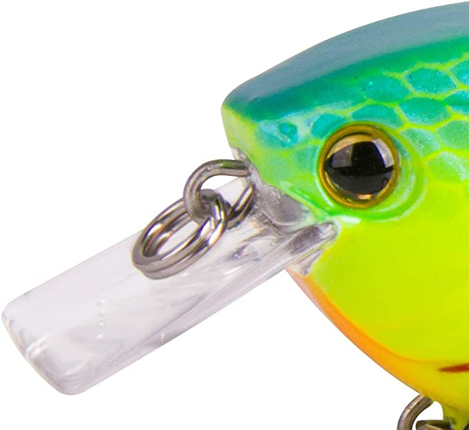 Mistrall Wobbler Stalker Rainbow Trout 5cm VMC Hook Bass Bait Jerkbait