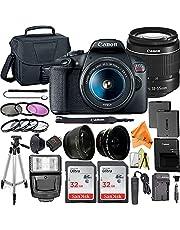 $569 » Canon EOS Rebel T7 DSLR Camera Bundle with EF-S 18-55mm f/3.5-5.6 Zoom Lens + ZeeTech Accessory Bundle + 2 Pack SanDisk 32GB Memory Card + Filter Kit + Flash + Tripod