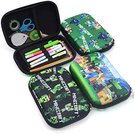 GTIN - Estuches para lápices, estuche de goma EVA, para escuela, Kawaii Kalem Kutusu Creative Trousse Scolaire, estilo, estuche, lápices, 1 unidad: Amazon.es: Oficina y papelería