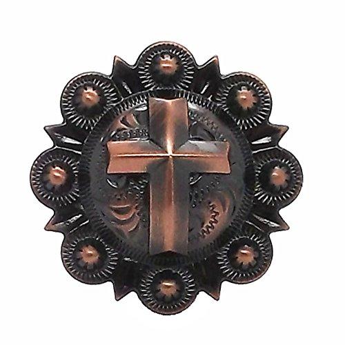 Cross Berry Concho Copper All Metal 1