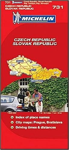 Pdf downloader ilmaiseksi eBook Michelin Road Map No. 731 Czech Republic, Slovak Republic, Scale 1:600,000 by Michelin Travel Publications (2007-02-23) PDF B01K2W89X0