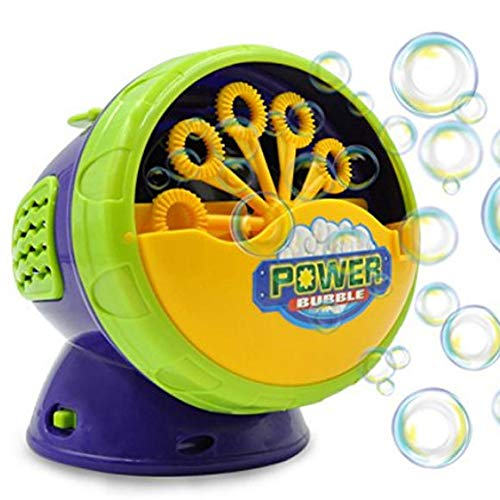 ToyerBee Bubble Machine with Bubble Solution for Kids toddles by ToyerBee (Image #1)
