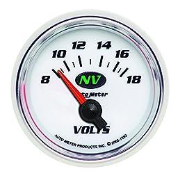 Auto Meter 7392 NV 2-1/16\