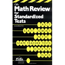 Math Review For Standardized Tests (Cliffs Test Prep)