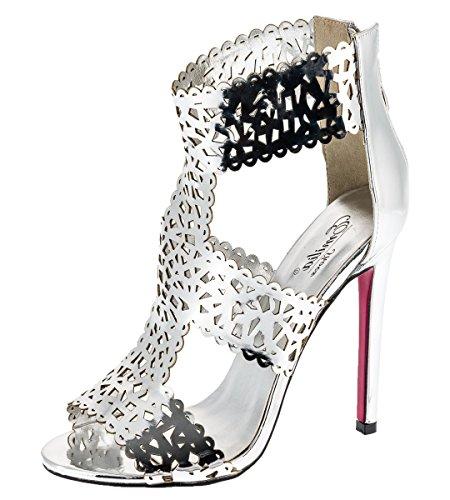 Shayenne - Zapatillas altas Mujer plata
