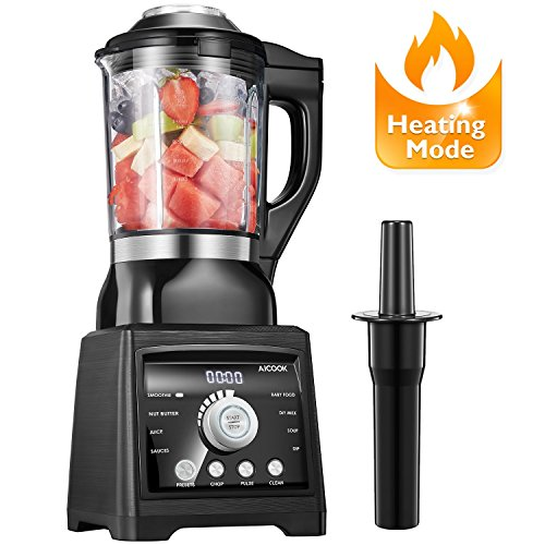 Aicook Blender, Smoothie Blender, Soup Blender,...