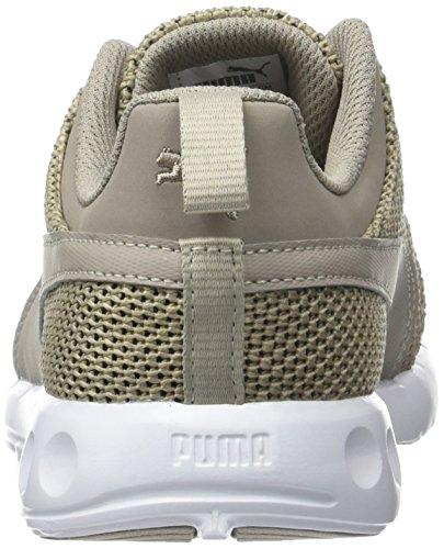 Puma Carson Runner Knit EEA - Zapatillas de Entrenamiento Unisex adulto Beige (Vintage Khaki-quiet Shade-puma White 08)