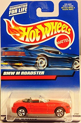 Hot Wheels 2000 BMW M Roadster Red Convertible (Bmw Convertible Toy Car)