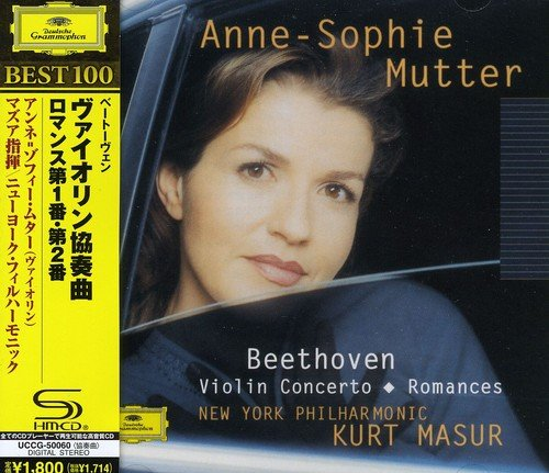 - Beethoven: Violin Concerto. Romances