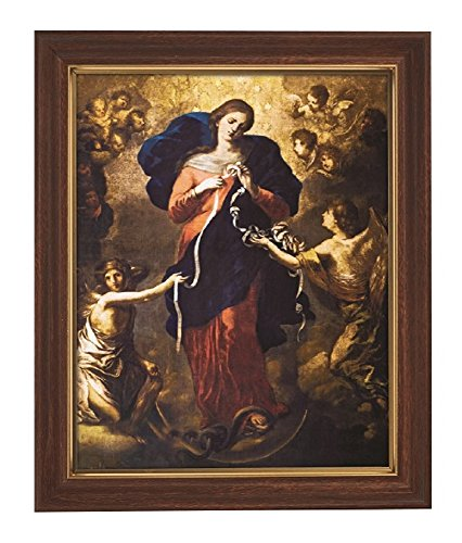 Mary, Untier of Knots Framed Print