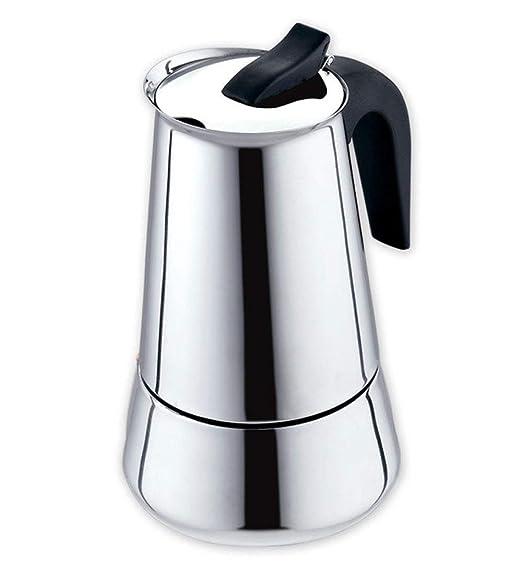 Moka Pot, MMKICC Moka Cafetera italiana Filtro de acero inoxidable ...